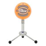 Micrófono Usb Naranja Condensador Snowball Ng Blue Microphon