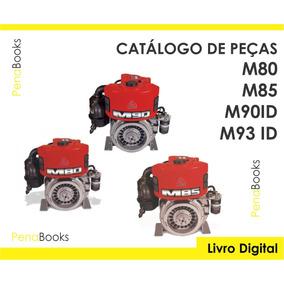 Catálogo Peças Motores Agrale M80 M85 M90 Id M93 Id