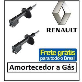 Kit 02 Amortecedor Renault Clio Importado 96 À 98 Remanu.