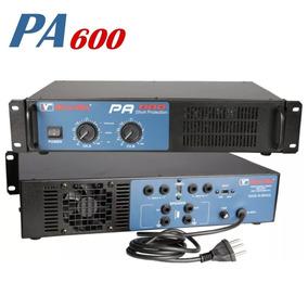 Amplificador Potência New Vox Pa-600 600w Profissional Op17
