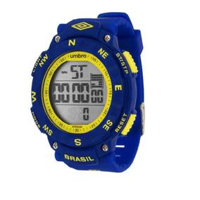 Relógio De Pulso Brasil Azul - Umb-01-br1 - Umbro