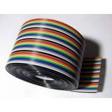 Flat Colorido 10 Vias 26awg Lance 5mts