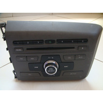 Som Cd Player Mp3 Rádio Original Honda Civic 2012 A 2014