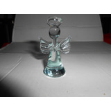 Angel En Cristal Para Recuerdo Bautizo