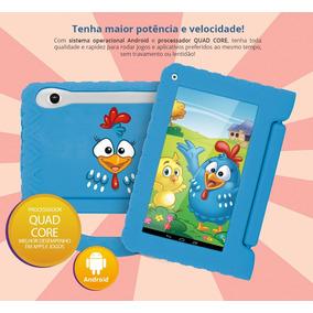 Tablet Computador Laptop Infantil Jogos Android Wifi Capa