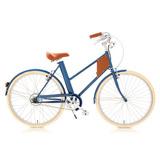 Bicicleta Elétrica Vela 2017 Azul Quadro Baixo 12x S/ Juros