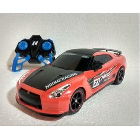 Controle Remoto Carrinho Nissan Gtr R35 Nikko Escala 1:16