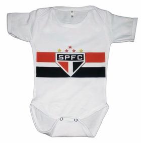 Roupa De Bebe Body Personalizado Time São Paulo Com Nome