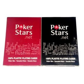 Cartas Pokerstars Color Rojo Entrega Inmediata