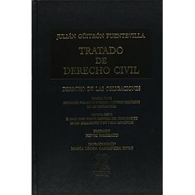 Libro Tratado De Derecho Civil: Derecho De Las Obligaciones
