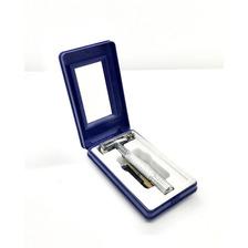 Máquina De Afeitar Metálica Nueva Para Hojas Gillette Estilo Antiguo -distr. Oficial Perfumeria Family