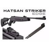 Carabina De Aire Hatsan Striker Edge 4.5mm + 200 Balines