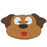 Tapete De Quarto Infantil Cachorro Feliz Para Crianças 1,32m