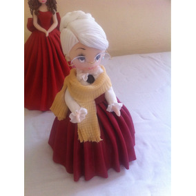 Migajón Pasta Francesa Muñeca Abuela Abuelita Regaló