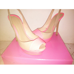Zapatos Altos Tacones Bershka Original Dama