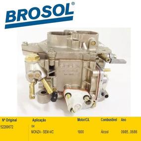 Carburador Monza 1.8 Alcool 85/86 Solex Duplo 30/34 Blfa