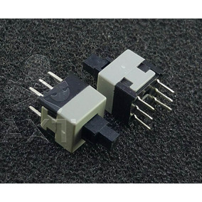 5 Unidades Switch Boton Encendido / Reset Gabinete Pc Sw25