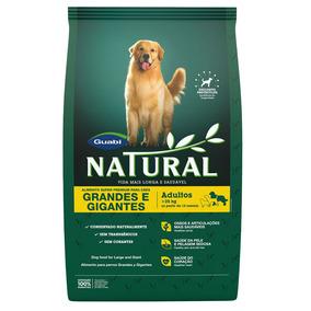 Ração Guabi Natural Para Cães Adultos De Raças Grandes E