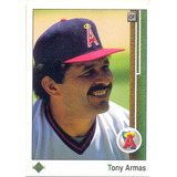 Barajita Antonio Armas Upper Deck Los Angeles 1989 # 212