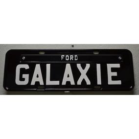 Placa Preta Decoração Ford Galaxie