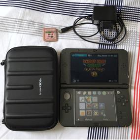 Nintendo 3ds Xl + Jogos (ler Descrição) + Case + Cabo