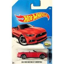 Hotwheels 2015 Ford Mustang Gt Convertible #7 2017