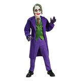 Batman The Dark Knight Deluxe The Joker Costume, Medio Niño