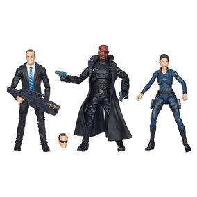 Bonecos Os Vingadores Legends Com 3 Personagens Hasbro