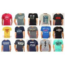 Kit 10 Camiseta Camisa Aleatory Von Dutch Child Reef Fatal