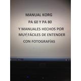 Manual En Español Del Korg Pa 80 Y Tutoriales Hechos Por Mi