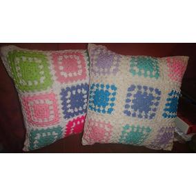 Tejidos Crochet Fundas Almohadones, Almohadas, Manta, Etc