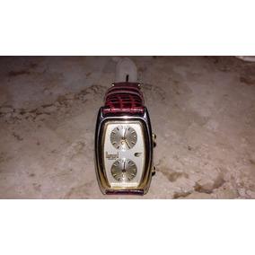 Relógio Pulso Dumont Quartz- Pulseira De Couro- Japan Movt.