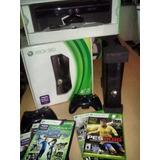 Xbox 360 Chipeada Con 7 Juegos Original, Más Kinet, 2 Joysti