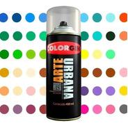 Spray Colorgin Arte Urbana Multiuso/graffiti -todas As Cores