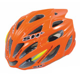 Casco De Ciclismo Bicicleta Sh Plus Shabli Orange Fluo