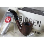 Pipa Big Ben, De Raiz De Brezo, Modelo Café Noir 205 Curva