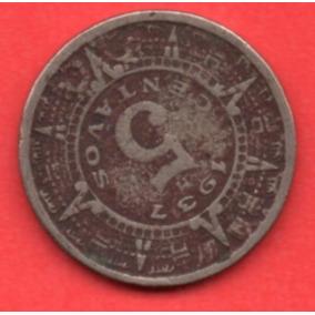 Moneda Segunda Guerra Mundial Cinco Centavos Sol 1937 C12