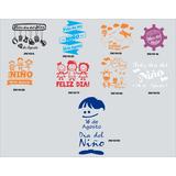 Vinilo Vidriera Dia Del Niño Ploteo Sticker