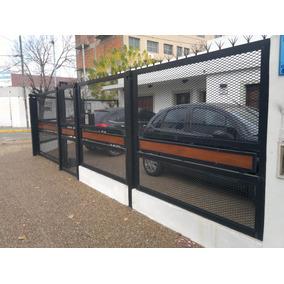 Rejas Frentes Puertas Portones Ventanas En Metal Desplegado