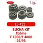 Kit Calço De Cabine F1000 / F4000 Sem Ferragem Ano 93/98