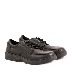 Zapatos Colegiales De Cuero Para Varón Del 27 Al 33