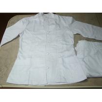 Uniformes Blancos Bordados Para Enfermera