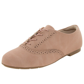 Sapato Feminino Oxford Nude Modare - 4051104