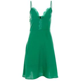 Vestido Curto Feminino For Why - Verde