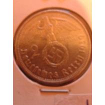 Moneda Plata Alemania Nazi 1939 Muy Buen Estado
