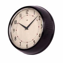 Reloj De Pared Retro Clock Metalico Colores*tiendadenda*