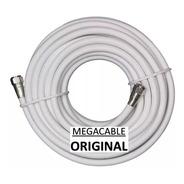 Cable Coaxial Rg6 Tv Cable 6 Mts + Conectores Alta Calidad