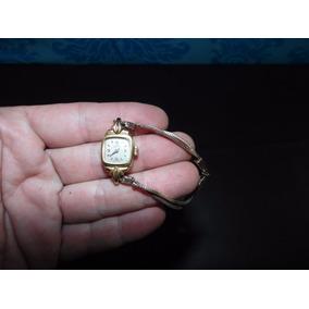 Relógio De Pulso A Corda Antigo - Lanco 16 Rubis Swiss Made