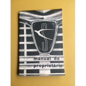 Manual Do Proprietário Simca Tufas Ano 1966