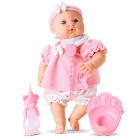 Boneca Roma Bebê Bolita Xixi